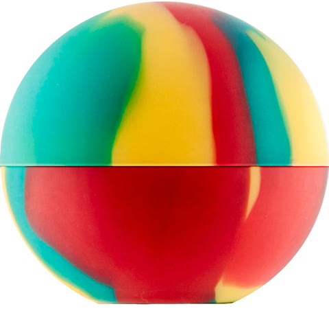 Oil Slick ball - Rasta