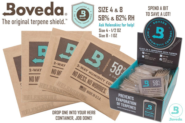 Boveda Packs for Medical Cannabis NZ