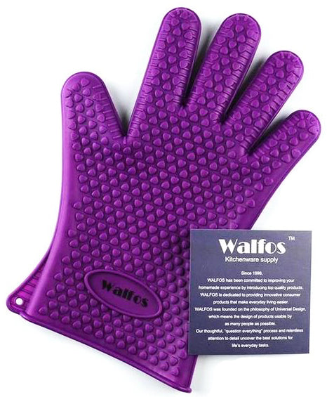 Walfos Extra Thick Silicon Gloves for Infusion Filtering NZ