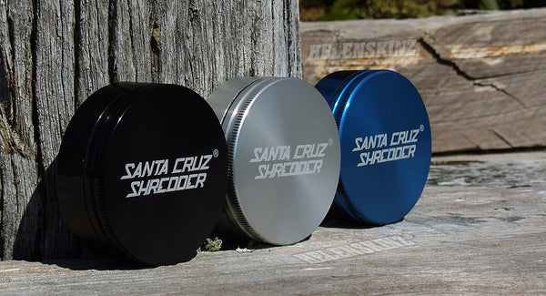 Santa Cruz Shredder Herb Grinders - Large 2pc - Helenskinz Vape Shop NZ