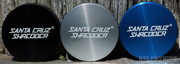 Santa Cruz Shredder Herb Grinders - Helenskinz Vape Shop NZ