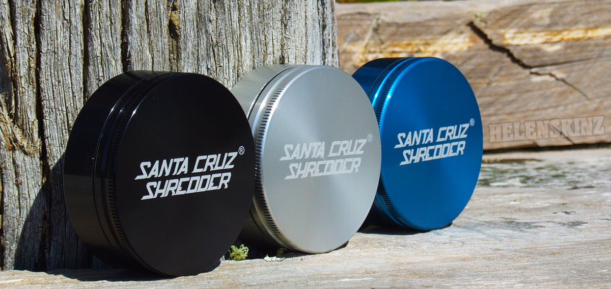 Santa Cruz Shredder Herb Grinders NZ