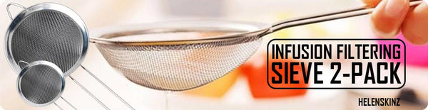2-Pack of Sieves for Infusions and the Nova FLEX NZ