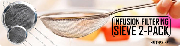 Helenskinz Sieve Kit - For Infusions - 2-Pack