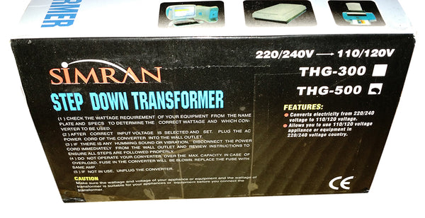 Simran 500w Power Converter