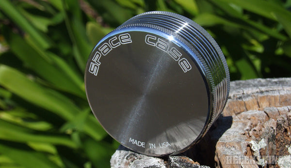 Silver Space Case 2pc Herb Grinder - Helenskinz NZ