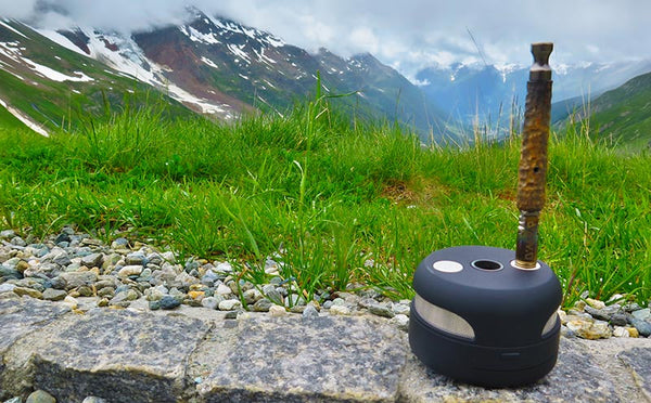 UFO Induction Heater in the Swiss Alps