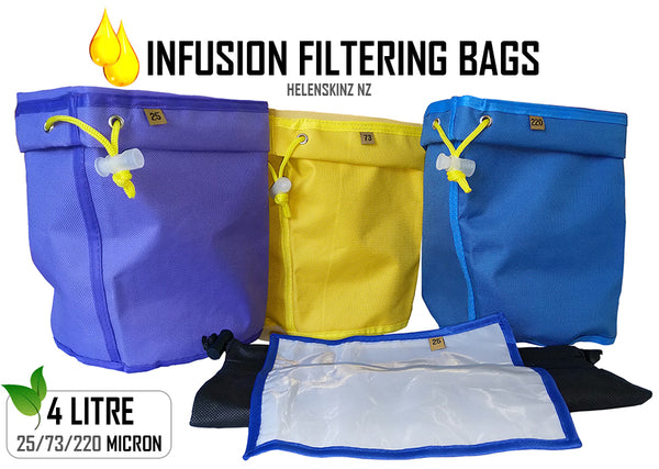 Helenskinz Infusion Shop - Filter Bags NZ - 3 Pack