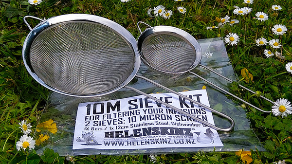 10M Sieve Kit for Filtering Infusions NZ