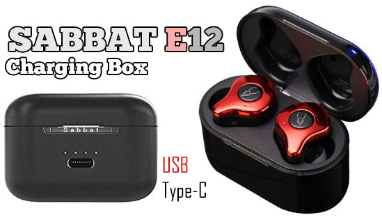 Sabbat E12 Charger Box Charging Earbuds