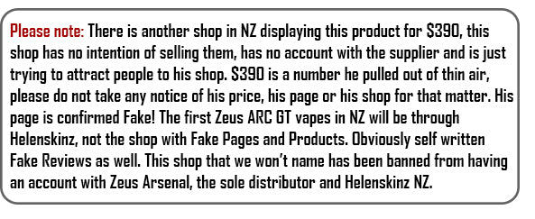Fake Products on NZ Shop