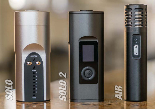 Arizer Solo, Solo 2 and Air