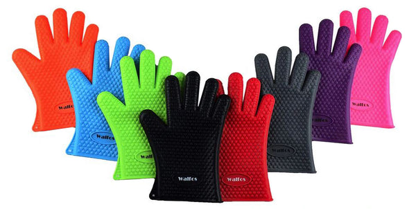 Walfos Extra Thick Silicon Gloves for Infusion Filtering.