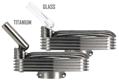 Glass & Titanium Mouthpieces with SS Cooling Kit NZ
