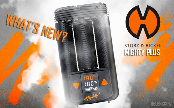 What's new with the Mighty+ Vape NZ?