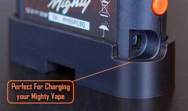 Charging Mighty Vaporizer in Stand - Mighty Vape Stand NZ