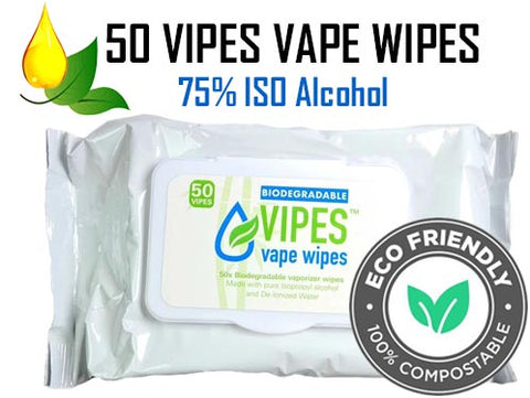 VIPES ECO Friendly ISO Wipes for Vapes NZ