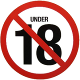 Under 18 years old Not Permitted - Helenskinz NZ