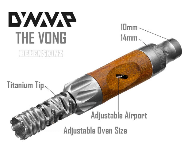 Specs on the Vong by DynaVap NZ