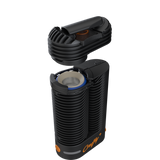 Cooling Unit on Top of Crafty Plus Dry Herb Vaporizer by Storz & Bickel NZ