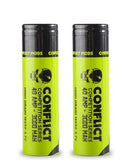 Conflict 18650 40 amp 3000 mAh 3.7v Battery
