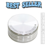 Space Case Herb Grinder NZ - 2pc Medium