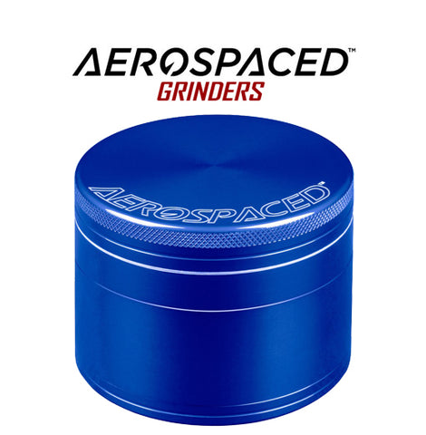 Blue Aerospaced 4 piece medium herb grinder NZ
