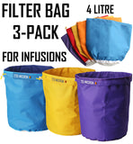 Helenskinz Infusion Filter Bag Kit 3-Pack NZ