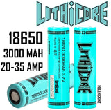 Lithicore 18650 3000mAh Herbal Vaporizer Battery NZ