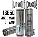 Lithicore 18650 3500mAh Vaporizer Battery NZ