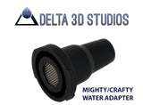 Mighty + Crafty V3 Water Pipe Adapter 14+18mm Male - Delta 3D