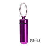 Purple Waterproof Airtight Stash Tins for lanyard NZ