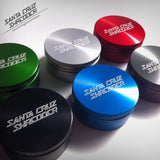 Santa Cruz Shredder Herb Grinder - 2pc Large 68mm - Helenskinz Online NZ - 16