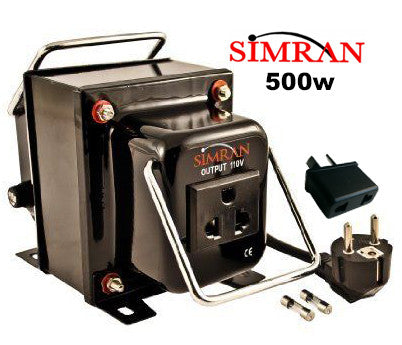 SIMRAN Step Down Transformer 500w USA to NZ Converter - Helenskinz Online NZ - 1