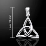 Celtic - 3 Point Trinity/Triquetra Silver Pendant - 30% OFF - Helenskinz Online NZ