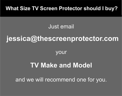 TV Screen Protector Make and Model