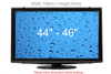"TV Screen Protector <br> PREMIUM CLEAR (29""-52"")"
