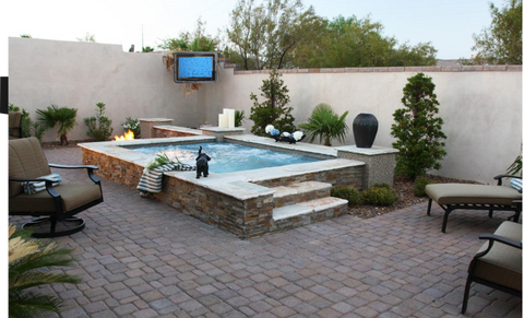 TV Enclosure Residential Series By Hot Tub
