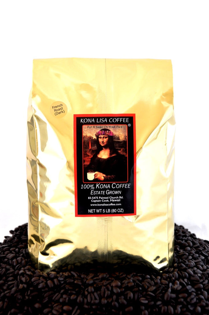 French (dark) Roast, Whole Bean (5 lb)