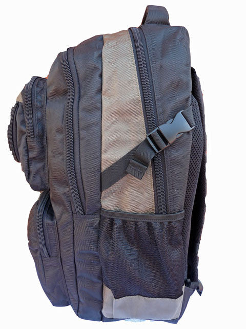 Laptop MacBook Backpack Bag RL13  Green S Side View