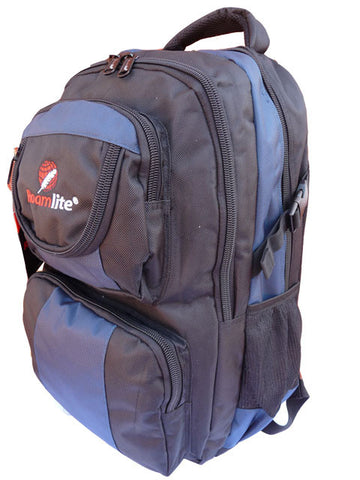 Laptop MacBook Backpack Bag RL13 Navy Side View