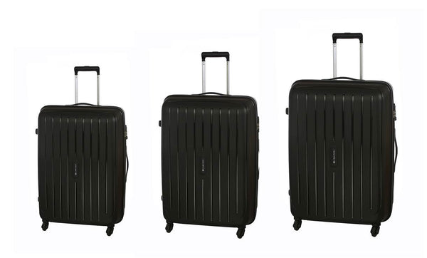 Carlton Phoenix Luggage Set Black
