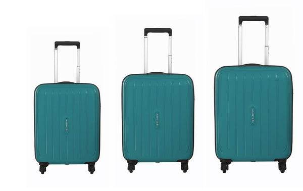 Carlton Phoenix Luggage Set Teal