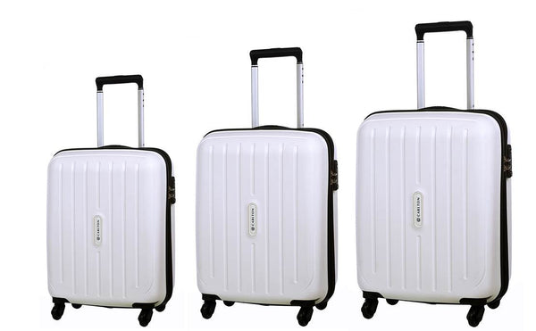 Carlton Phoenix Luggage Set White