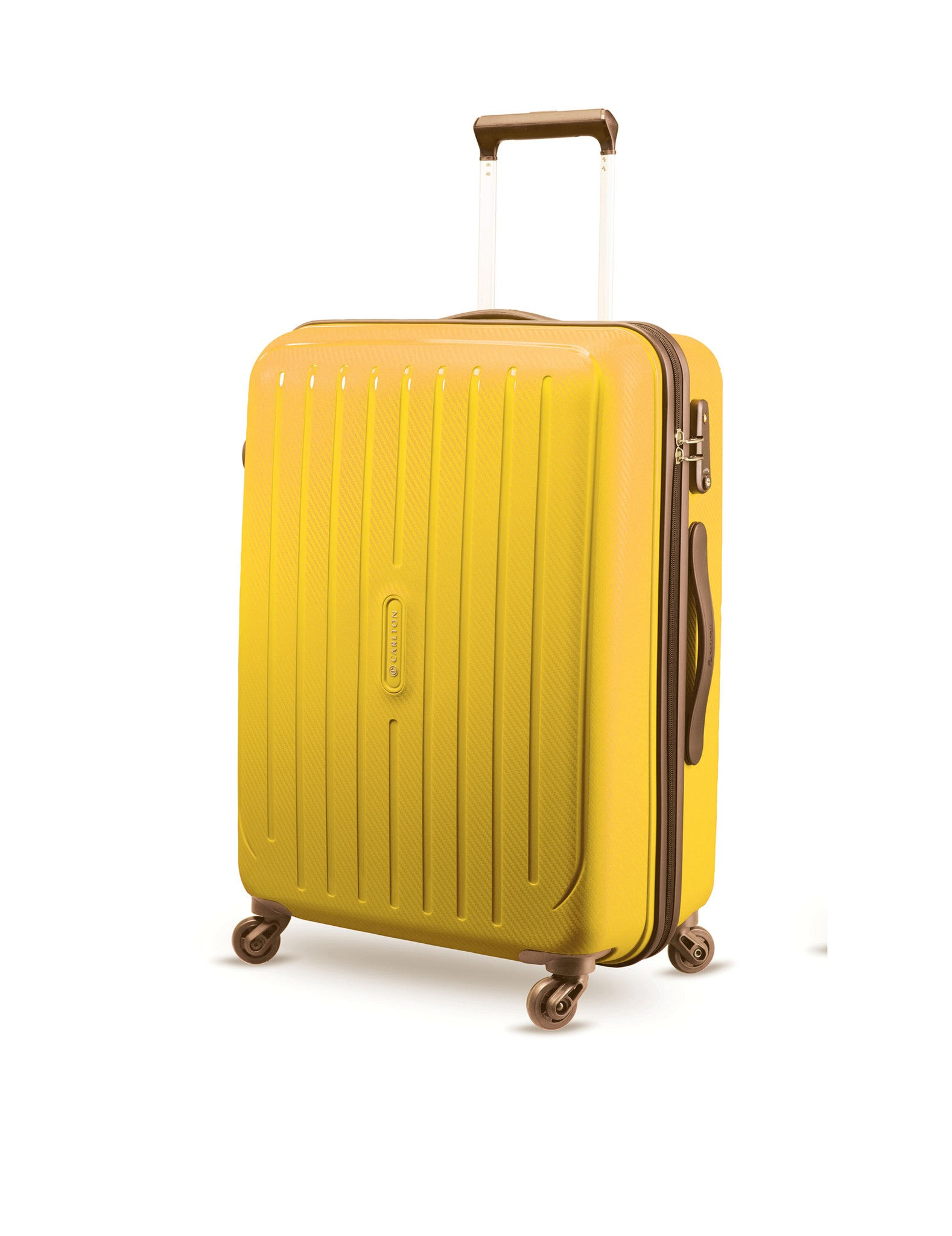 Carlton Phoenix 65cm Size Trolley Case Yellow