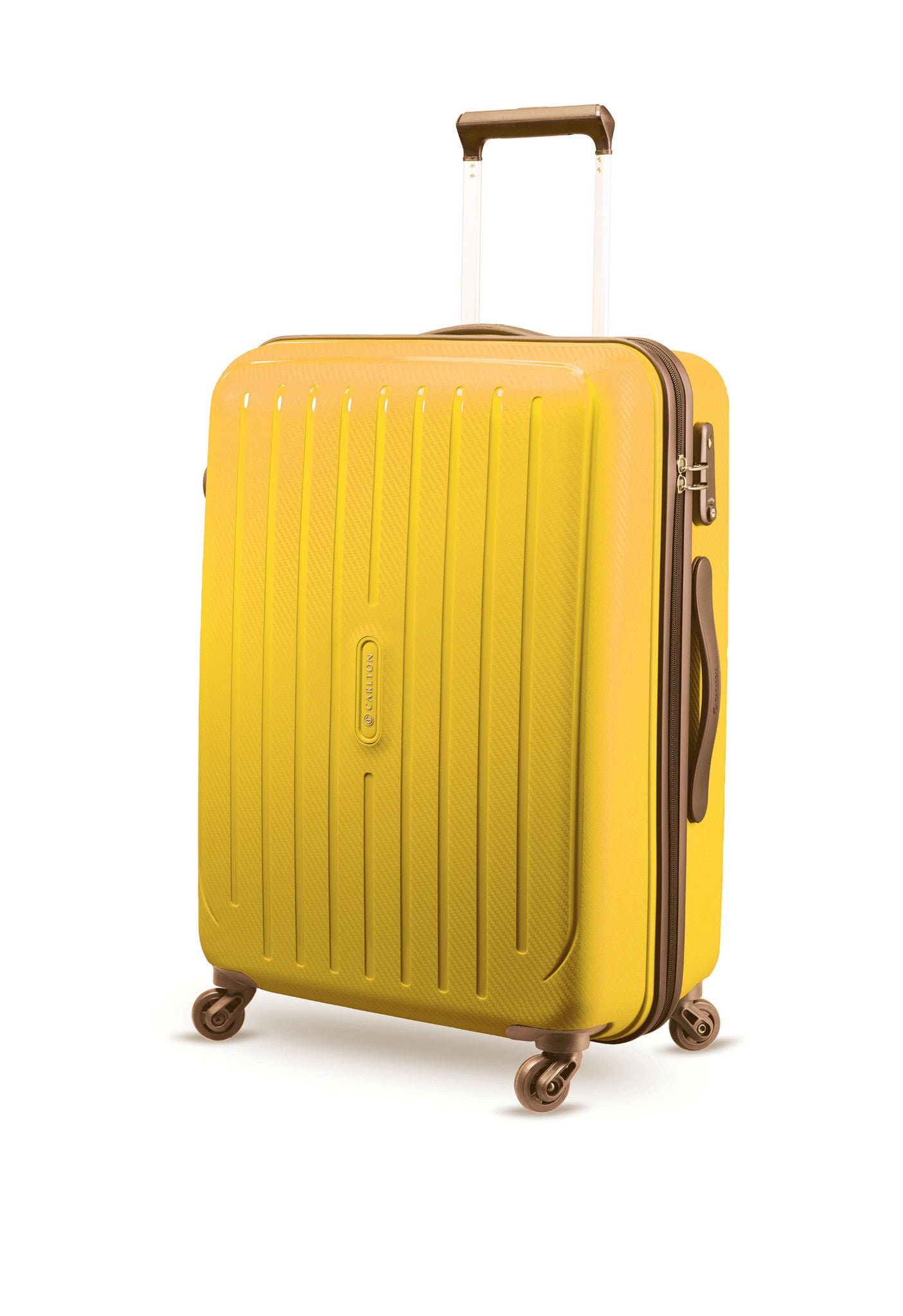 Carlton Phoenix 75cm Size Trolley Case Yellow