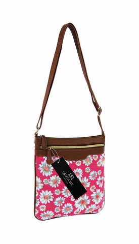 Canvas Messenger Cross Body Bag 17 Colours