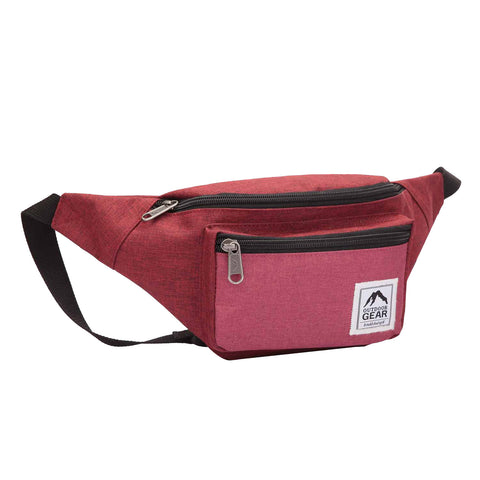 Travel Bumbag Black Grey RL817KGy