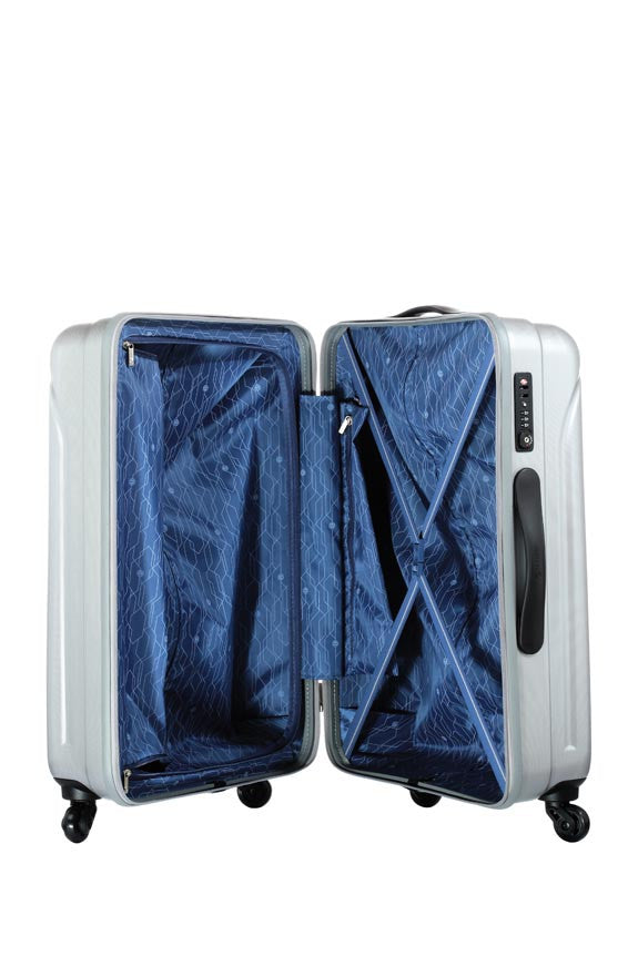 Carlton Stellar Luggage Trolley Case Inside