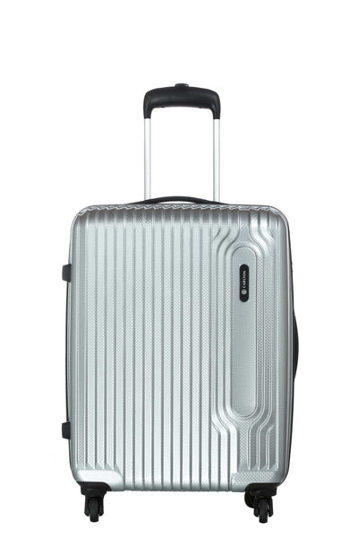 Carlton Tube Trolley Luggage 65cm Silver